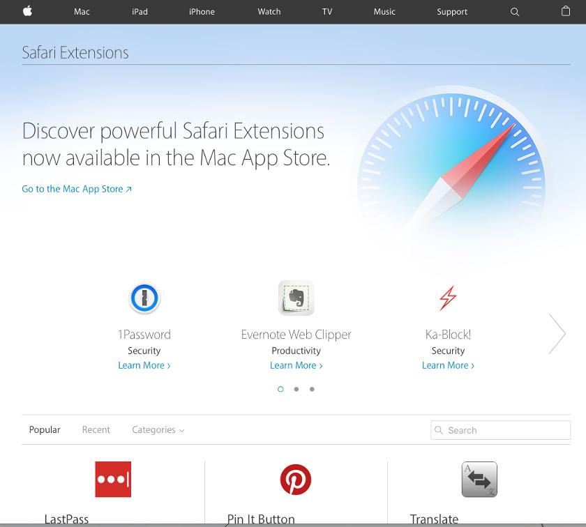 MacのSafariで、英文サイトを翻訳する方法【拡張機能】