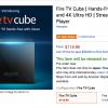 US AmazonにてAlexa搭載「fire TV cube」が発売開始!