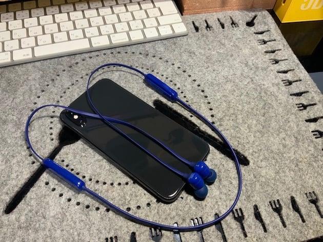 iPhoneとiPad ProでBluetoothイヤホンを切り替えて使う【JBL T110BT】